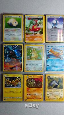Vintage & New Pokemon Binder 500+ Card Collection Lot Chardizard Rares & Holos