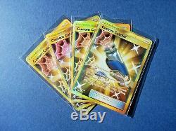 X4FULL ART CUSTOM CATCHER PLAYSET Secret Rare Lost Thunder Pokemon Cards 231