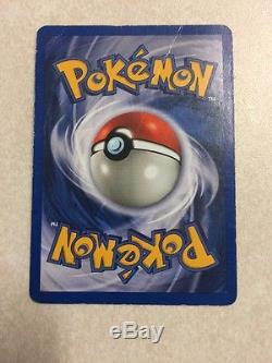 1995 Rare Holo Foil Mewtwo Carte Pokémon À La Fine Pointe De La Premiére 10/102