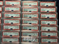 1995 Topsun 120+ Psa 10 Cartes Pokemon Japonais Vert Retour Gem Mint Set Charizard