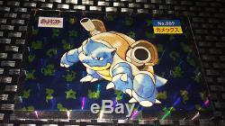 1995 Topsun Blastoise Holofoil Très Rare Carte Pokémon Japonaise (mint / Nm) Psa