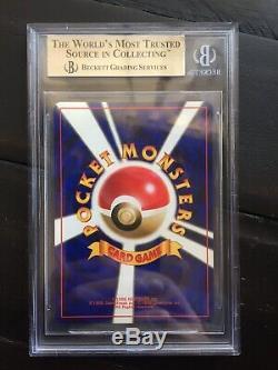 1996 Charizard Holo Base Japonais Bgs 10 Pristine Carte Pokémon Fass Subs Rares