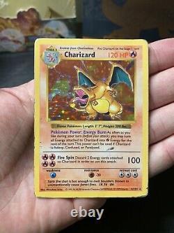 1999 Base Set Shadowless Charizard Holo 4/102 Pokemon Card Vintage