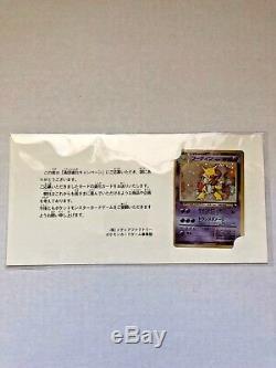 1999 Carte Pokemon Japonaise Promo De Vente Masaki Alakazam N ° 065 Holo Rare Scellée