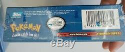 1999 Pokemon Topps Trading Cards Booster Box Set 2348 Nouveau 11 Paquets Rare