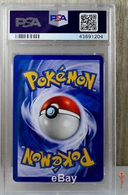 1er Ed Foncé Blastoise Holo Rare Wotc Carte Pokemon 3/82 Rocket Set Psa 9 Mint