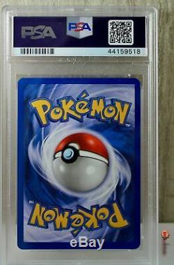 1er Ed Foncé Charizard Holo Rare Wotc Carte Pokemon 4/82 Rocket Set Psa 9 Mint