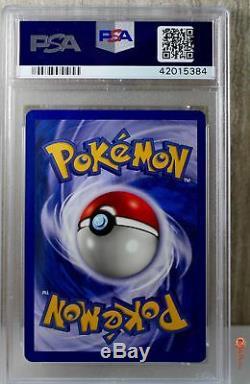 1er Ed Raichu Holo Rare 1999 Wotc Carte Pokemon 14/62 Fossil Set Psa 10 Gem Mint
