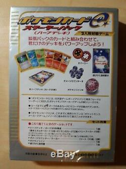 1er Rare Édition E Série Starter Plate-forme Cartes Pokemon Charizard Japonais