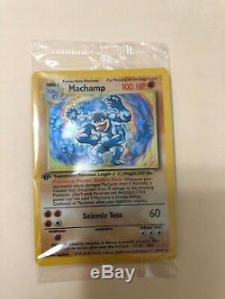 1ère Édition Des Cartes Pokémon Machamp Holographiques 8/102