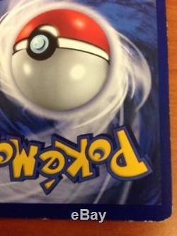 1ère Édition Shadowless Blastoise Holo Base Rare Jeu Pokemon Trading Card Nm