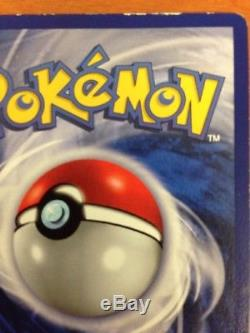 1ère Édition Shadowless Blastoise Holo Rare Base Set Pokemon Trading Card Nm
