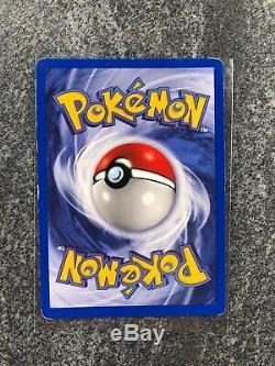 1ère Édition Shadowless Nidoking 11/102 Base Set Rare Holo Carte Pokemon 1999