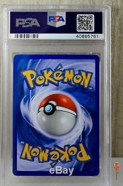 1ère Édition Typhlosion Holo Rare Carte Wotc Pokemon 18/111 Neo Genesis Psa 10 Gem Mint