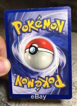 1st Ed Raichu Holo Shadowless Set Base 14/102 Carte Pokémon Première Édition Nm