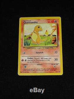 2 Cartes Pokémon Rares Charmeleon 24/102 + Charmander 46/102 Carte (1b)