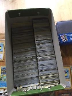 2000 Cartes Pokémon Y Compris Ex Et Holos Et Protecteur De Carte Some Old / Rare