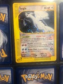 2003 Aquapolis Crystal Lugia Secret Rare Nm / Mt 149/147 Holo Carte Pokémon