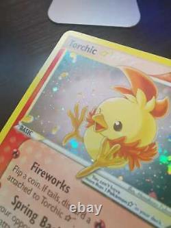 2004 Ultra Rare Torchic Gold Star 108/109 Ex Team Rocket Pokemon Card Holo Tcg