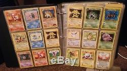 2500+ Cartes Pokemon Lot 3 Reliures Holos Rares Premières Éditions
