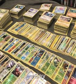 3500+ Lot De Cartes Pokemon. Ex, LVL X, Holo Rares, Rares Etc. Toute La Collection
