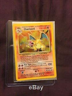 3x Nm Base Set 1x Collection Légendaire Carte Pokémon Charizard Holo