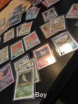 40 Lots De Cartes Pokémon De La Collection Légendaire Holo Inversée, Les Sorciers De La Côte