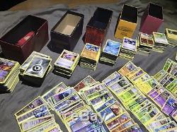 5000+ Lot De Cartes Pokémon. Ex, LVL X, Holo Rares, Rares Etc. Toute La Collection Nm
