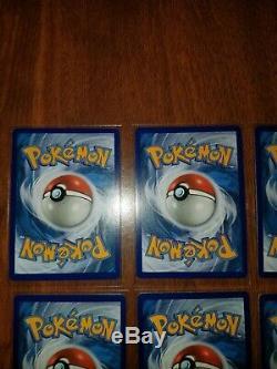 6 Pokemon Arc-en-carte Rare Lot