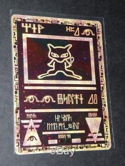 Ancient Mew Pokemon 2000 Film Promo Ultra Rare Hologramme Carte Nintendo Mint Cat