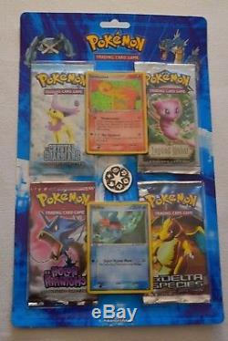 Blister Pokémon 2007 Avec 4 Boosters Ex Et Cartes Promo Ultra Rare! Mint / Nm