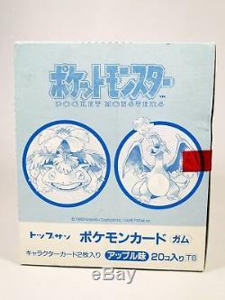 Boite De Boosters Pokemon Topsun 1995 Scellée Rares Sont Les Premières Cartes Pokémon Imprimées