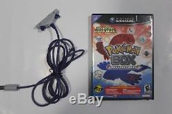 Boîte Pokemon Ruby & Sapphire (ntsc / Us) Incl. Carte Mémoire Et Câble Gba (rare!)