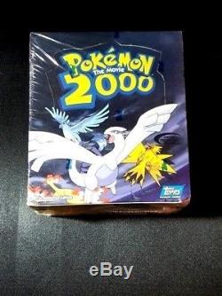 Booster Boite De Boosters Pour Cartes De Collection Scellées Pokemon The Movie 2000 Rare