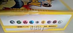 Booster Booster Box Set 1ère Édition Pokemon E-card Authentique Rare Scellée Du Japon