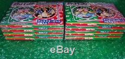Booster Packs Topsun Scellés Pokemon 16 Avec Boîte Originale! Green Back Cards! 1995
