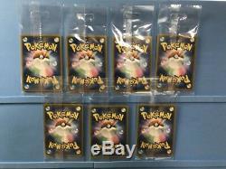 Boss Team Rocket Pikachu Promo Set Complet Lot 7 Carte De Centre Pokemon Japon Rare
