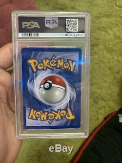 Brillant Charizard Carte Pokemon Neo Destin 107/105 Secrète Rare Psa Graded 8 Nm-m