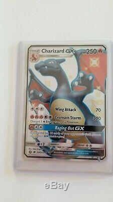 Brillant Charizard Gx Sv49 Holographic Carte Pokémon Cachés Parques Rare