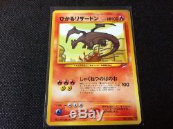 Brillant Charizard N0. 006 Neo Destiny Japonais Holo Carte Rare Pokemon