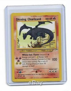 Brillant Charizard Très Rare Carte Pokémon! 107/105 Voir État! Wow $$$