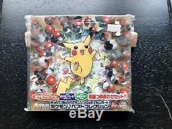 CD Pokemon Japonais 1998 Et Cartes De Promo Venusaur Charizard Holo Bleed Complet