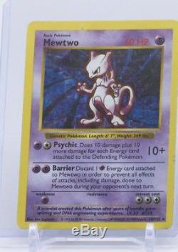 Carte D'empreinte Ultra-rare Holographique Mewtwo