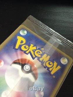 Carte Japonaise Pokemon Vaporeon Gold Star 022 / Play 10000 Exp Points Promo