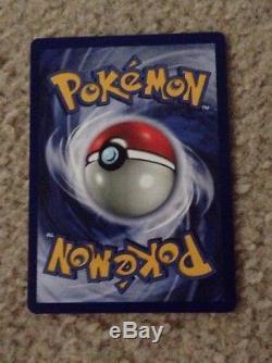 Carte Pokémon 1ère Édition Charizard Base Set Holo 1999! Rare! État Neuf
