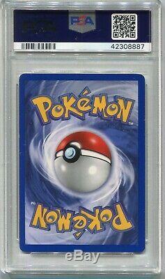 Carte Pokemon 1ère Édition Shadowless Feunard De Base 12/102, Psa 8 Nm-monnaie