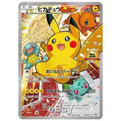Carte Pokémon 2016 Festa 20e Anniversaire Pikachu 279 / Xy Psa 10