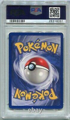 Carte Pokemon Charizard 1ère Édition Shadowless De Base 4/102, Psa 4 Vg-ex
