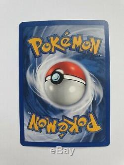 Carte Pokemon Charizard Holo Ultra Rare 1999 Imprimer Édition De Base 4/102 Mint