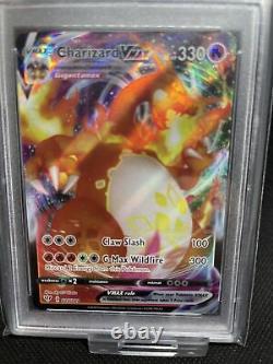 Carte Pokémon Charizard Vmax Psa Classé 10 Gem Mint! Carte Parfaite